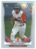 2014 Bowman Chrome Prospects #BCP90 Manuel Margot NM-MT