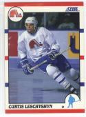 1990-91 Score #92 Curtis Leschyshyn ROOKIE CARD Nordiques