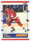 1990-91 Score #339 Steve Yzerman  Red Wings