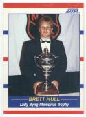 1990-91 Score #366 Brett Hull TR  Blues