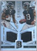 2016 Spectra Synced Swatches #5 Jeremy Langford/Kevin White 107/199 Bears