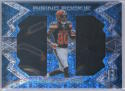 2016 Spectra Rising Rookie Materials Neon Blue #29 Ricardo Louis 35/99 Browns