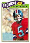 Football NFL 1977 Topps #27 Craig Morton  Broncos