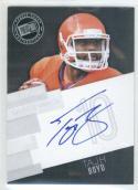 Football NFL 2014 Press Pass Autographs Silver #TBO Tajh Boyd  Autograph