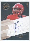 Football NFL 2014 Press Pass Autographs Bronze #KC Ka'Deem Carey /99