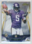 2014 Topps Finest #142 Teddy Bridgewater  RC
