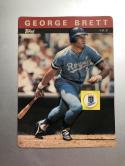 1985 Topps 3-D Baseball Stars #4 George Brett