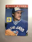 1985 Topps 3-D Baseball Stars #20 Dave Stieb