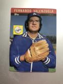 1985 Topps 3-D Baseball Stars #21 Fernando Valenzuela