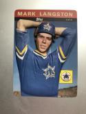 1985 Topps 3-D Baseball Stars #22 Mark Langston
