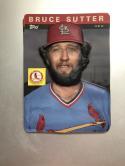 1985 Topps 3-D Baseball Stars #23 Bruce Sutter