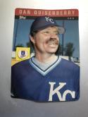 1985 Topps 3-D Baseball Stars #24 Dan Quisenberry