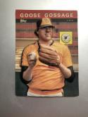 1985 Topps 3-D Baseball Stars #27 Rich Gossage