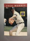1985 Topps 3-D Baseball Stars #28 Jack Morris