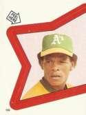 1983 Topps Stickers #159 Rickey Henderson 3000