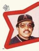 1983 Topps Stickers #163 Reggie Jackson 3000