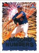1999 Topps Record Numbers #RN8 Roger Clemens NM Near Mint