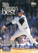 2000 Topps 20th Century Best #235 Roger Clemens NM Near Mint