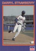 1990 Starline #37 Darryl Strawberry NM Near Mint Mets