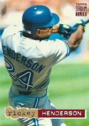 1994 Stadium Club #107 Rickey Henderson 3000
