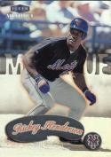 1999 Fleer Mystique #52 Rickey Henderson 3000
