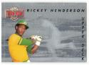 1993 Upper Deck Then and Now #TN3 Rickey Henderson