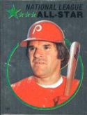1982 Topps Stickers #121 Pete Rose NM Near Mint