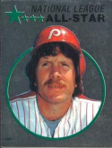 1982 Topps Stickers #123 Mike Schmidt NM Near Mint