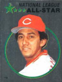 1982 Topps Stickers #124 Dave Concepcion NM Near Mint
