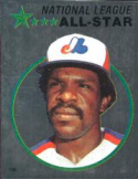 1982 Topps Stickers #125 Andre Dawson NM Near Mint