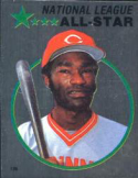 1982 Topps Stickers #126 George Foster NM Near Mint