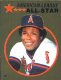 1982 Topps Stickers #131 Rod Carew NM Near Mint