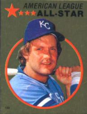 1982 Topps Stickers #133 George Brett NM Near Mint