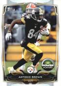 2014 Topps Power Players #PP-45 Antonio Brown NM Near Mint