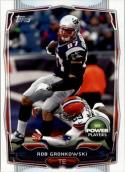 2014 Topps Power Players #PP-178 Rob Gronkowski NM Near Mint
