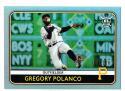 2020 Topps Big League Rainbow Foil #224 Gregory Polanco 094 /100