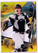2020 Finest Refractors Gold #48 Zack Collins MINT RC 36/50