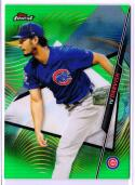 2020 Finest Refractors Green #52 Yu Darvish  /99